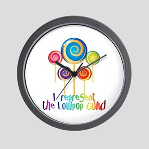 Lollipop Guild OZ Wall Clock