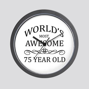 World's Most Awesome 75 Year Old Wall Clock