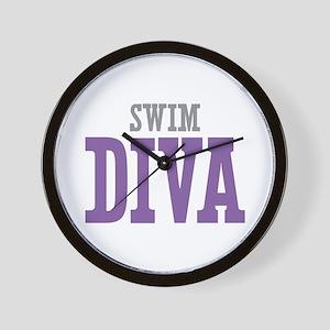 Swim DIVA Wall Clock
