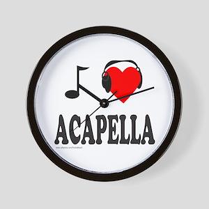 ACAPPELLA Wall Clock