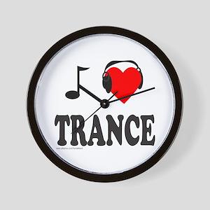 TRANCE MUSIC Wall Clock