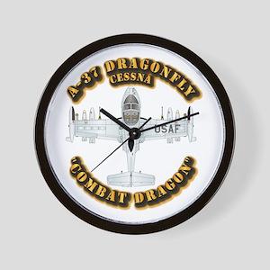 A-37 Dragonfly Wall Clock