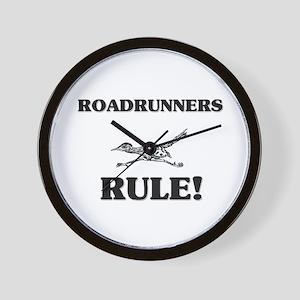 Roadrunners Rule! Wall Clock
