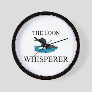 The Loon Whisperer Wall Clock