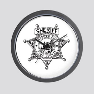 Pima County Sheriff Wall Clock