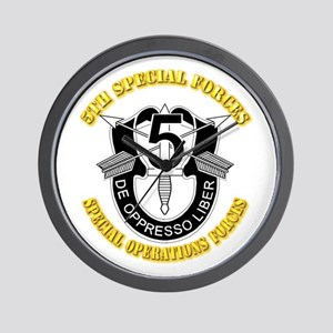 5th Special Forces - DUI Wall Clock