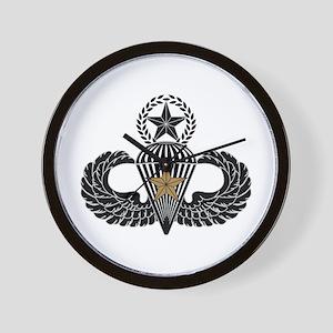 Combat Parachutist 1st awd Master B-W Wall Clock