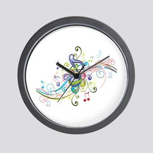 Music in the air Wall Clock