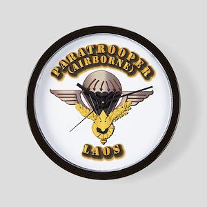 Airborne - Laos Wall Clock