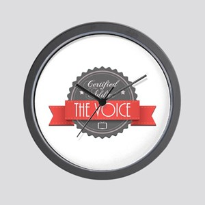 Certified Addict: The Voice Wall Clock