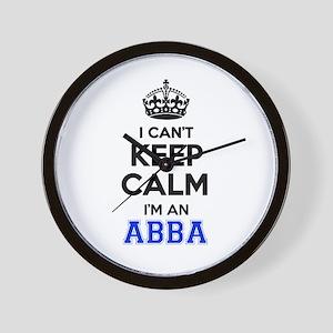 I cant keep calm Im ABBA Wall Clock