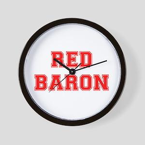 RED BARON! Wall Clock