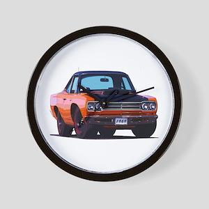 BabyAmericanMuscleCar_69_RoadR_Xmas_Orange Wall Cl