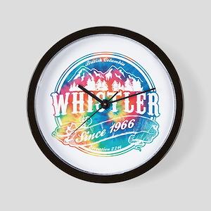 Whistler Old Circle Wall Clock