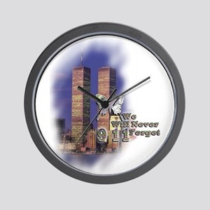 September 11, we will never forget - Wall Clock