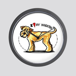 Wheaten Terrier Lover Wall Clock