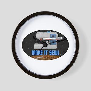 ST: Make It Sew Wall Clock