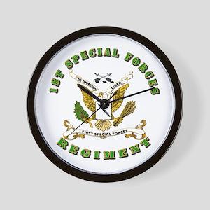 SOF - 1st SF Regiment Wall Clock