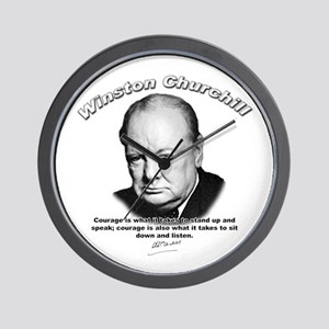 Winston Churchill 01 Wall Clock