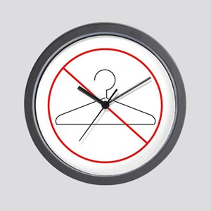 No More Back Alley Abortions Wall Clock