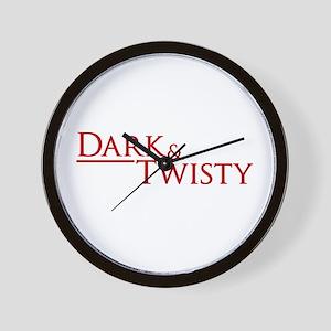 Dark & Twisty Wall Clock