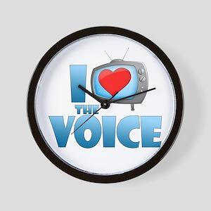 I Heart The Voice Wall Clock