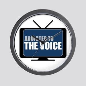 Addicted to The Voice Wall Clock