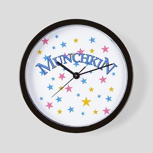 Munchkin Wizard of Oz Wall Clock