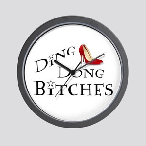 Ding Dong Bitches Wall Clock