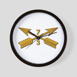3rd Bn 7th SFG Branch wo Txt Wall Clock