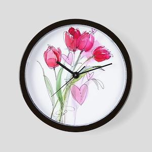 Tulip2 Wall Clock