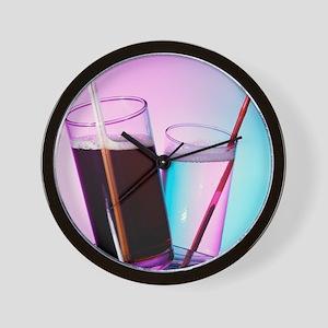 Fizzy drinks Wall Clock