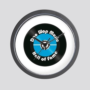 Doo Wop Music Hall Of Fame Wall Clock
