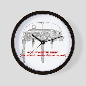 A-37 TWEETIEBIRD Wall Clock