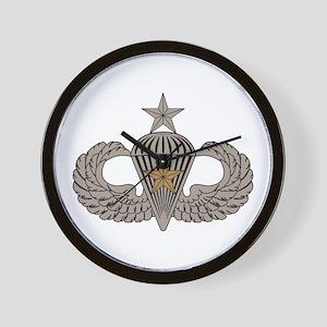 Combat Parachutist 1st awd Sr. Wall Clock