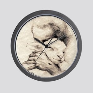 jesus7 Wall Clock