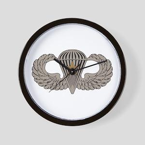 Combat Parachutist 1st awd basic Wall Clock