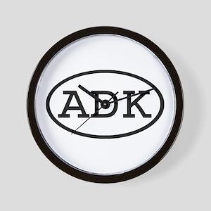ADK Oval Wall Clock