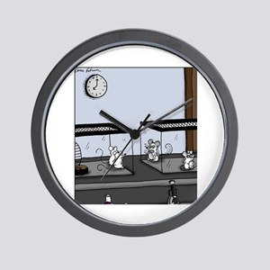 Control Group Mice Wall Clock