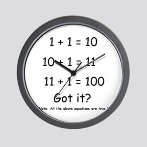2-Got it Wall Clock