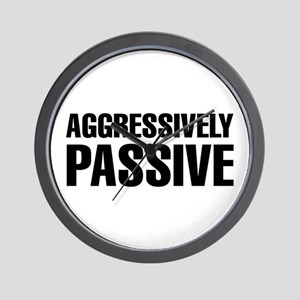 Aggressively Passive Wall Clock