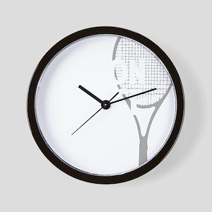 tennisWeapon1 Wall Clock