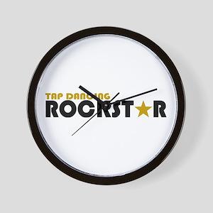 Tap Dancing Rockstar Wall Clock