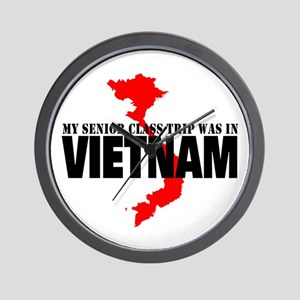 Vietnam Senior Class Trip Wall Clock