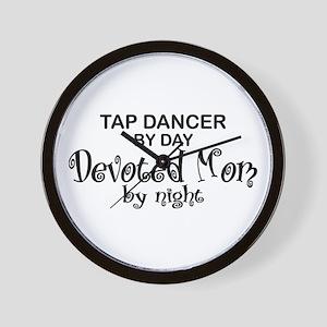 Tap Dance Devoted Mom Wall Clock