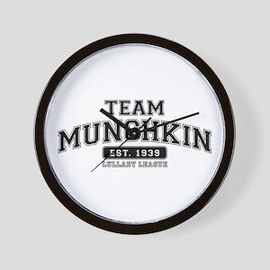 Team Munchkin - Lullaby League Wall Clock