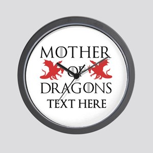 Mother of Dragons Personalizd Wall Clock