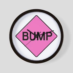 BABY BUMP (PINK) Wall Clock