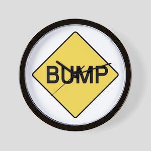 BABY BUMP (YELLOW) Wall Clock