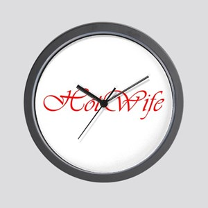 Hotwife Wall Clock
